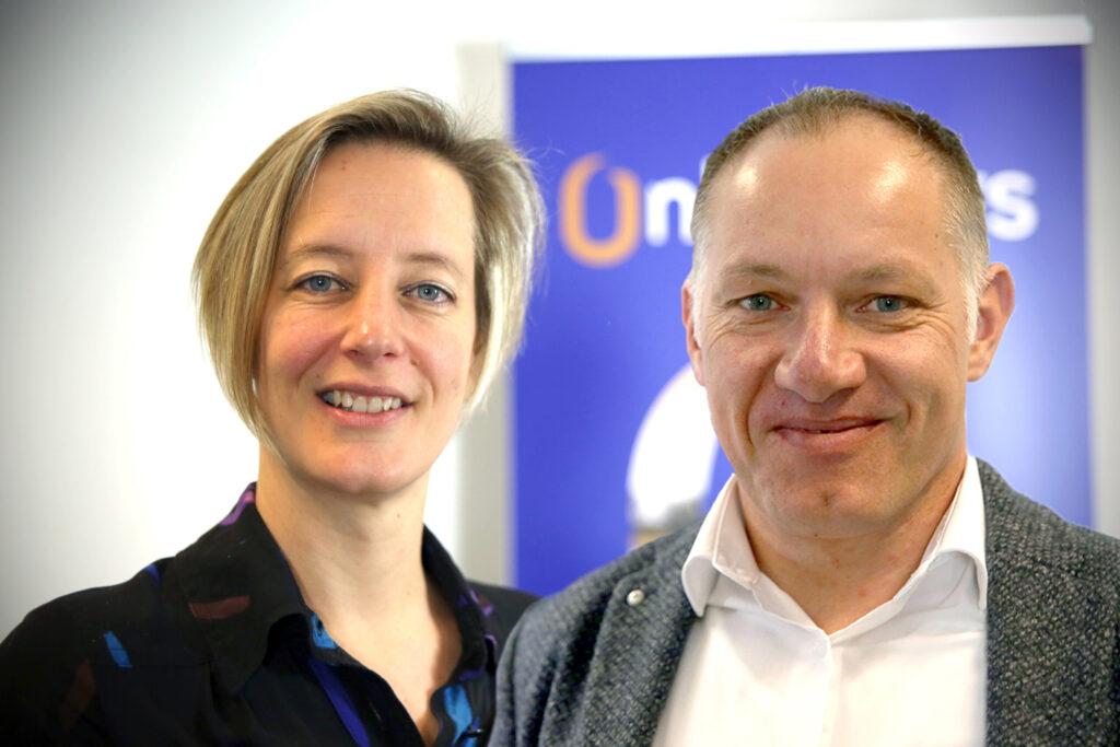 Marleen en Marcel Onlanders