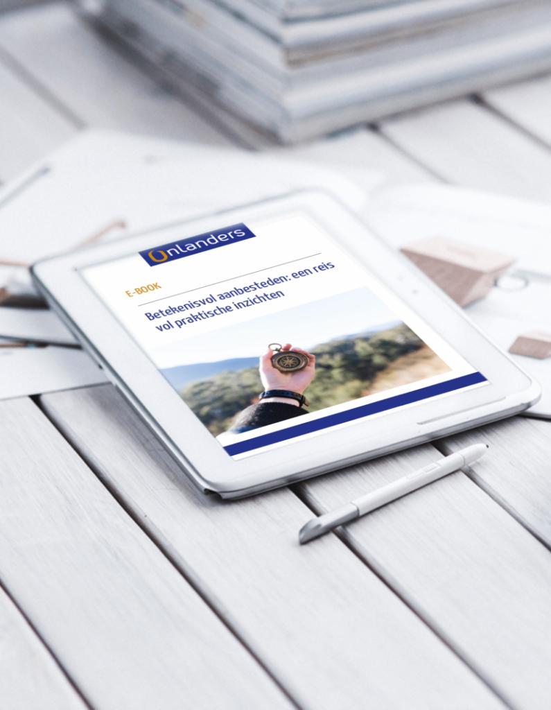 E-book Circulair aanbesteden Onlanders